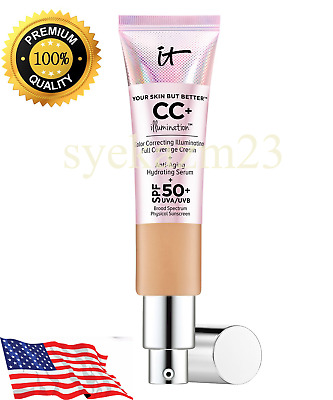 It Cosmetics CC Cream Medium/Light Illumination SPF50+ Full Coverage Foundation