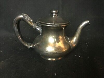 Vintage Wallace Bros. Hotel Maryland Silver Plate Creamer Hotel Quality 8 oz
