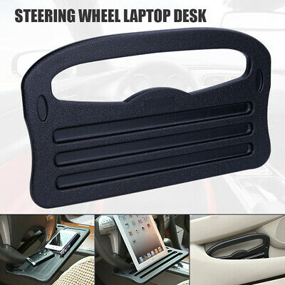 Auto Car Steering Wheel Laptop Desk Portable Computer Tray Stand Mount Holder