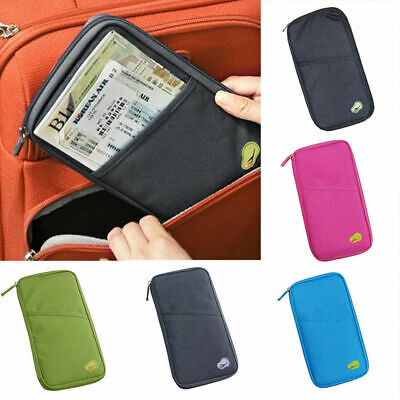 Fashion Travel Credit Card Cash Passport Holder Document Bags Handbags Wallet