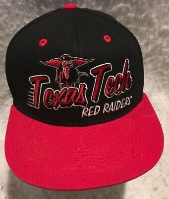 Texas Tech Red Raiders Snap Back Adjustable Hat Ball Cap By Top Of The World