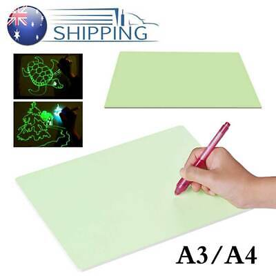 Draw With Light Drawing Board Fun Kids Magic Educational Painting Developing Toy