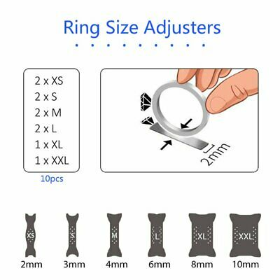 Invisible Tightener Ring Size Reducer Resizing Adjuster Pad Inserted Guard
