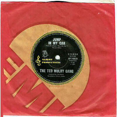 """The Ted Mulry Gang - Jump In My Car - 7"""" 45 Vinyl Record - 1975"""