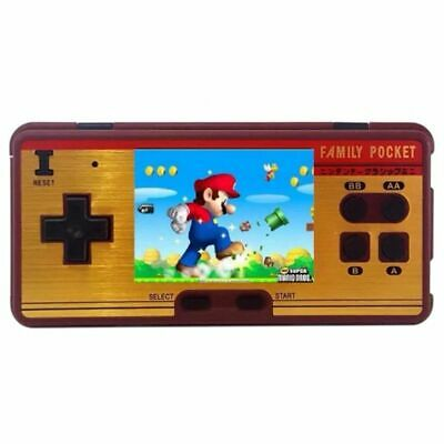 2X(Mini Retro Portable Handheld Game Player Family Pocket Built in 638 Game P2R3