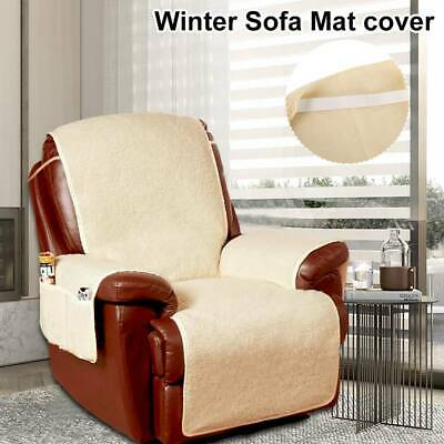 Fleece Armchair Seat Sofa Couch Covers Slipcover Mat Furniture Protector UK