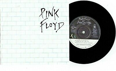 """PINK FLOYD - ANOTHER BRICK IN THE WALL - 7"""" 45 VINYL RECORD w PICT SLV - 1979"""