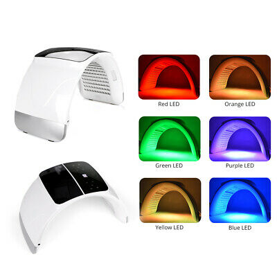 7Colors LED Photon Therapy Facial Phototherapy Calcium Supplement Beauty Machine
