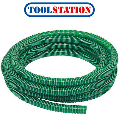 Steel Spiral Helix 10M Coil Pipe Wire Reinforced Vacuum Suction Delivery Hose