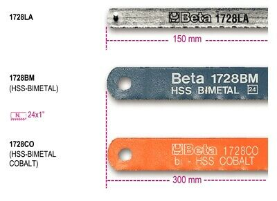 Beta Tools 1728Bm High-Speed Bimetal Blade For Hacksaw Frames
