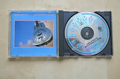 DIRE STRAITS Brothers In Arms Early CD Album Made in France by PMDC