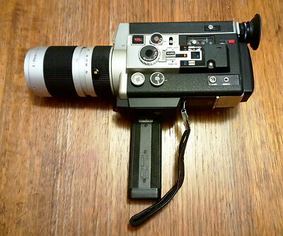Vintage Canon Auto Zoom 1014 Super 8 Movie Camera with 7-70mm/f1.4 lens