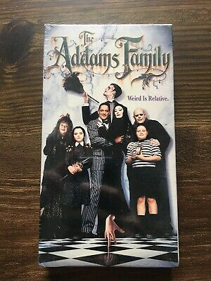 New Sealed Rare The Addams Family Weird Is Relative McDonalds Promotion VHS Tape