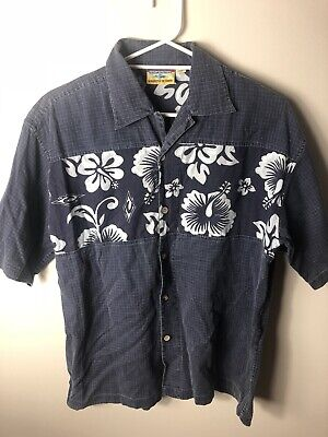 Ripcurl Vintage Shirt Floral Style Button Up Surf Tshirt Size Medium