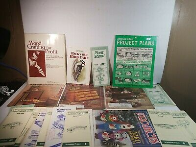 Woodworking patterns lot
