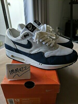 2003 NIKE AIR Max 1 Sport Royal Size 8.5 Wmns Size 10 306444