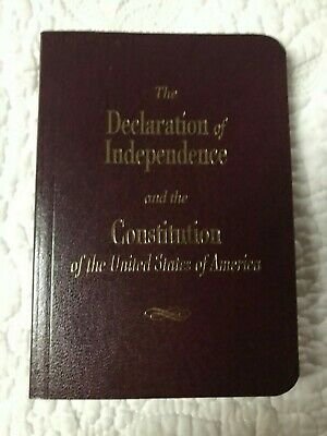 Declaration Of Independence  And The Constitution Book 37086 New