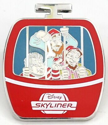New Disney Parks Disney Skyliner Jailhouse Pirates Limited Release Mystery Pin