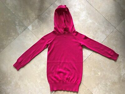 Gap Kids Girls Hot Pink Hooded Sweater Small Size 6/7