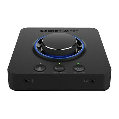 Creative Sound Blaster X3 Hi-Res 7.1 USB DAC and Amp for PC & Mac