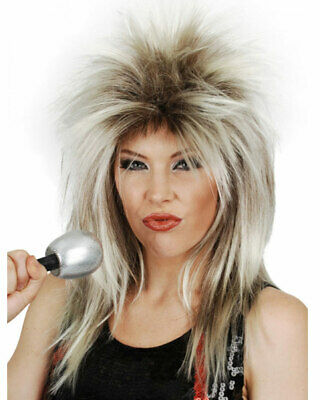 Tina Turner Brown And Blonde Wig One Size
