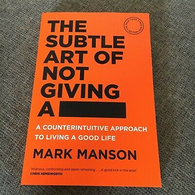 New Softcover, Mark Manson. The Subtle Art Of Not Giving A ####. 9781760558772