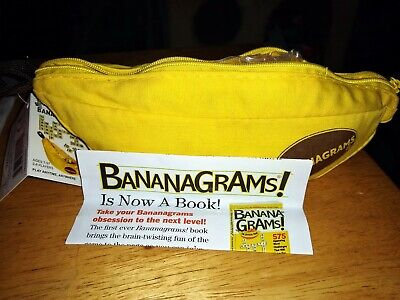 BANANAGRAMS Anagram Word Making Building Game Complete with Instructions LNWT