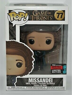 Funko Pop! Game of Thrones Missandei #77 NYCC 2019 Shared Exclusive