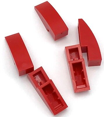 Lego 5 New Dark Red Slopes Sloped Curved 2 x 2 No Studs Pieces