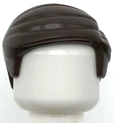 LEGO Black Minifig Hair Short Smooth Combed Sideways Part Right