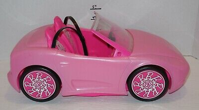 2010 Mattel Barbie Pink Glam Convertible Car