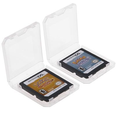 Pokemon Heart Gold/Soul Silver Game Card For 3DS NDSI NDS NDSL US Version + Box