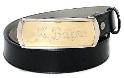 """about 4mm Thick, 36mm Wide Size 40/"""" OX SKIN Leather Work Belt"""