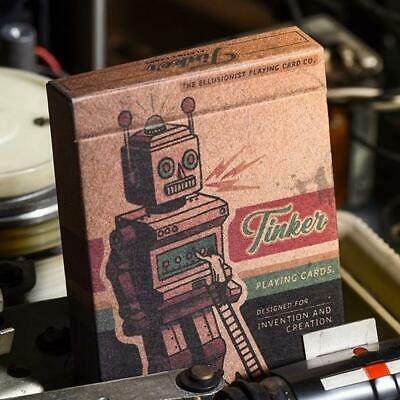 Tinker Playing Cards Robotic Invention New Release deck by Ellusionist