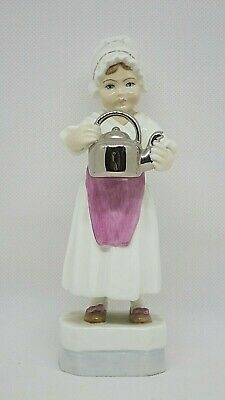 Royal Worcester Figurine POLLY PUT THE KETTLE ON 3303. In very good condition.