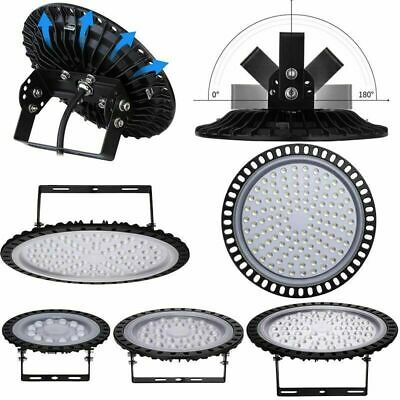 UFO LED High Bay Lights 300W 200W 100W 50W Factory Warehouse Gym Lighting