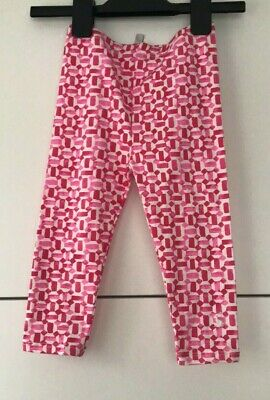 Joules Baby Cotton Leggings / Pink 9-12 Months Brand New With Defect Free P&P