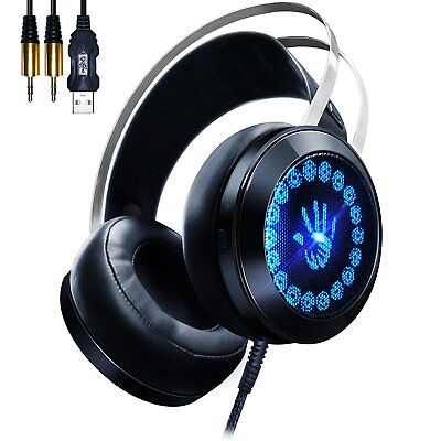 Cuffie Gaming Headset G400 Con Led Jack 3,5mm Per Pc Ps4 Mac Linq