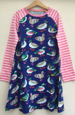 NEW Mini Boden Duck Print Tunic Dress Age 4 - 5 Years - Retails for £20