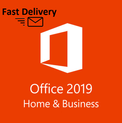 Microsoft Office 2019 Home and Business | 1PC | Windows | Multilingual | Full