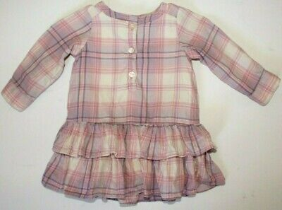 NWT Baby Gap Toddler Plaid Gingham Rust Ruffle Bloomers 12-18 or 18-24 months
