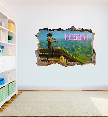 FORTNITE Game High Quality Bedroom Wall Art Sticker Decal Print Boys Girls #2