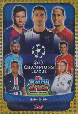 Topps Match Attax Champions League 19 20 2019 2020 UCL1  Players UCL Card