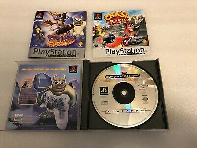 Spyro 3 Year of the Dragon game for Sony Playstation 1 PS1 PS2 PS3 Consoles