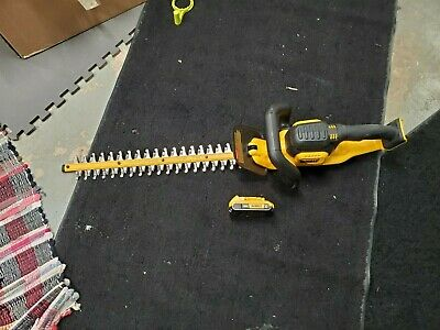 Dewalt Dcht820 20V Max Hedge Trimmer w/ a battery no charger