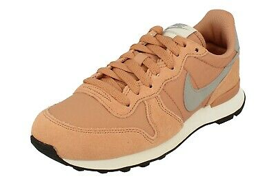 WMNS NIKE INTERNATIONALIST Rose Gold Gray Peach Pink 9