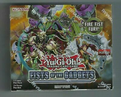 Yu-Gi-Oh Tcg Fists Of The Gadgets 1St Ed Factory Sealed Booster Box