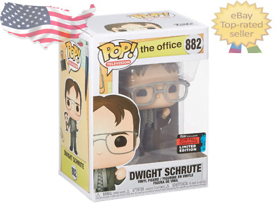 Funko Pop! TV: The Office - Dwight Holding Dwight Figure, Fall NYCC #882 IN HAND