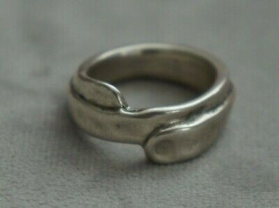 NEW Engraved Uno De 50 Stamped Silver Unisex Band Statement Ring 10.5 XXL