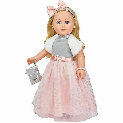 "My Life As A Winter Princess Doll 18"" Blonde 2018 Holiday Exclusive New"